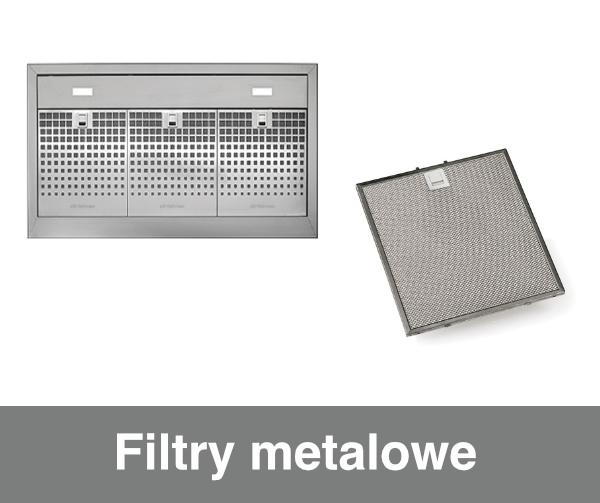 Filtry metalowe