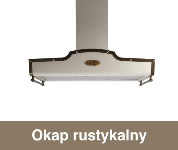 Okap rustykalny