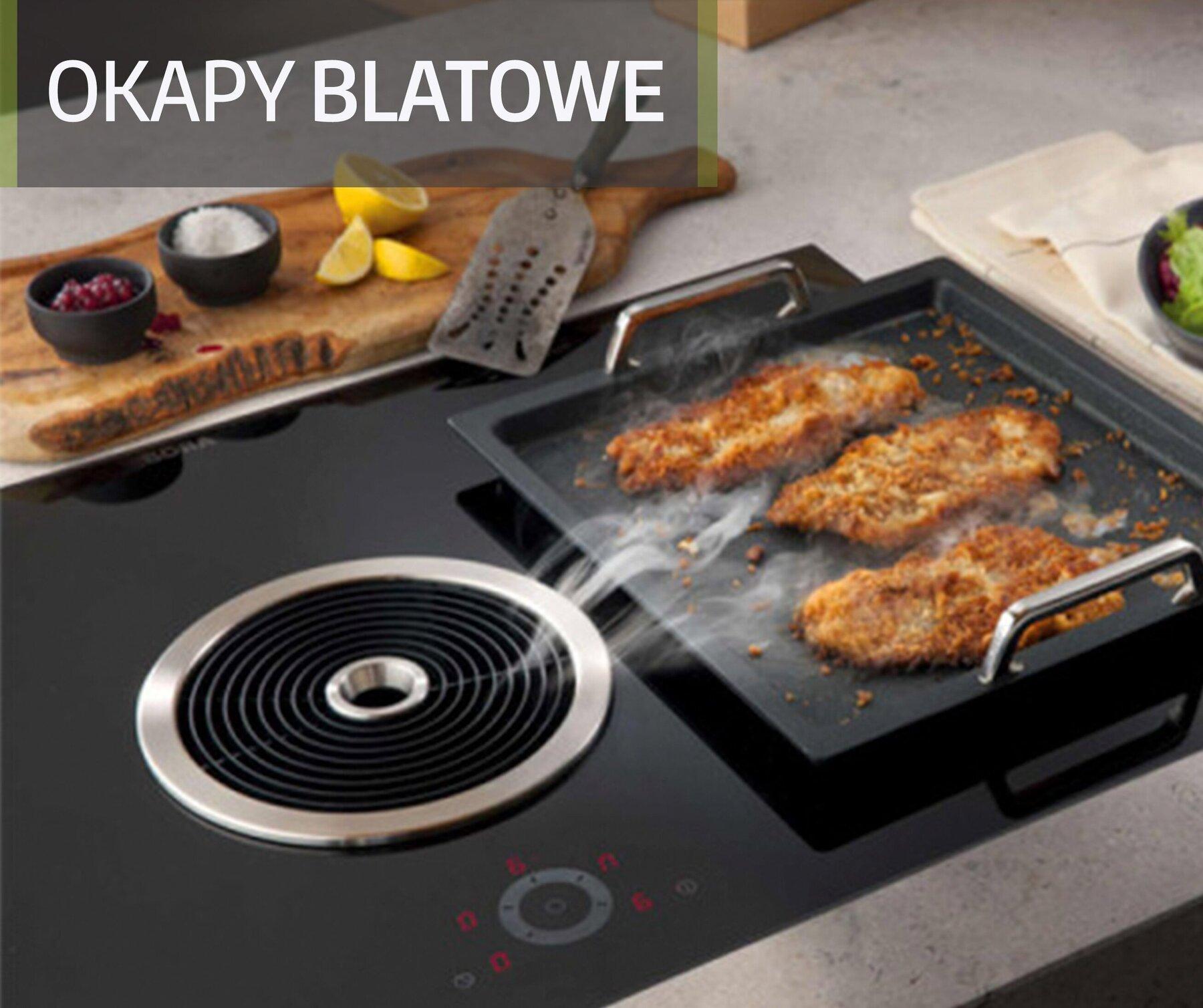 Okap blatowy - nowoczesne rozwiązanie w Twojej kuchni
