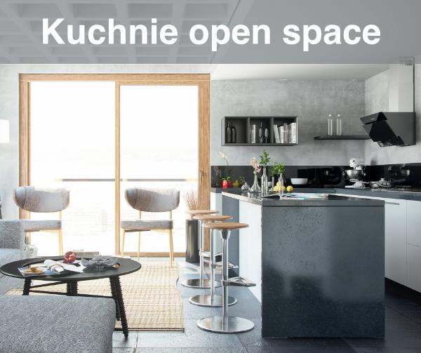 Projekt kuchni open space
