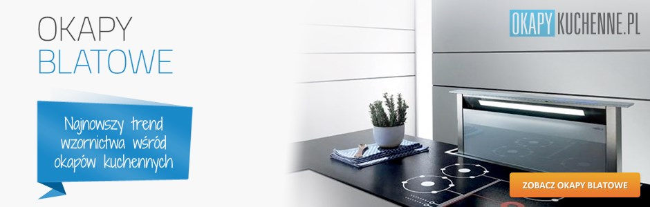 Okapy blatowe 90 cm