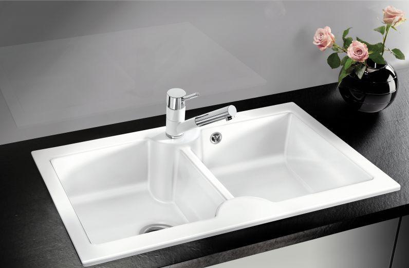 bateria zlewozmywakowa blanco antas s ja min ceramika chrom. Black Bedroom Furniture Sets. Home Design Ideas